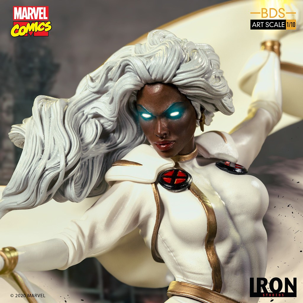 Iron Studios Battle Diorama 系列 Marvel Comics【暴風女】Storm 1/10 比例全身雕像