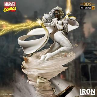 Iron Studios Battle Diorama 系列 Marvel Comics【暴風女】Storm 1/10 比例全身雕像