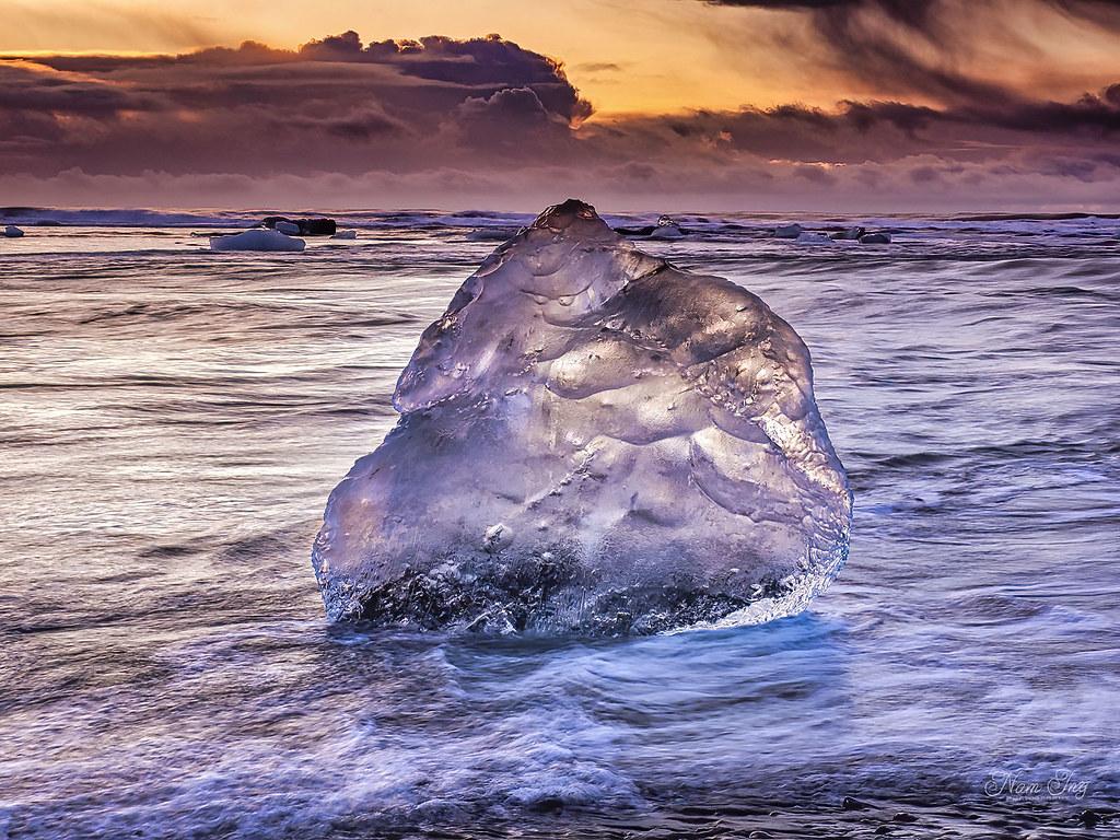 [04] Jökulsárlón - Diamond Beach - Islande 49699936597_4e4272445b_b