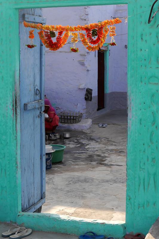 Départ pour l'école à Patan (Rajasthan) 49699966738_55b0da6caa_c