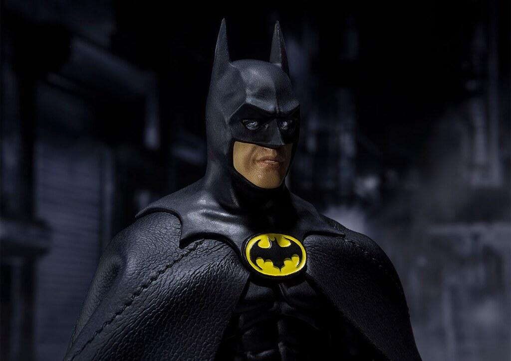 經典不敗的「嘟嘟翹唇」歸來~ S.H.Figuarts《蝙蝠俠(1989)》「米高·基頓」版蝙蝠俠 (バットマン) 即將登場?!