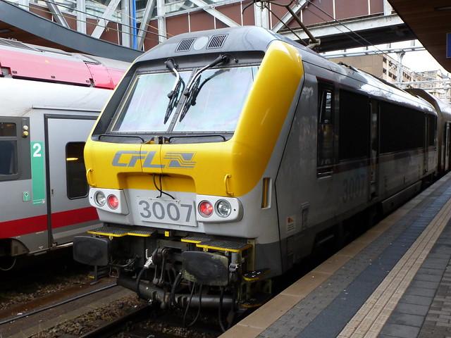 E-Lok CFL 3007, Serie 3000, Hersteller Alsthom