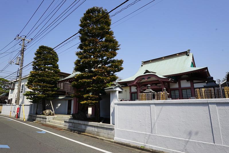 106東京いい道しぶい道池上道西之院