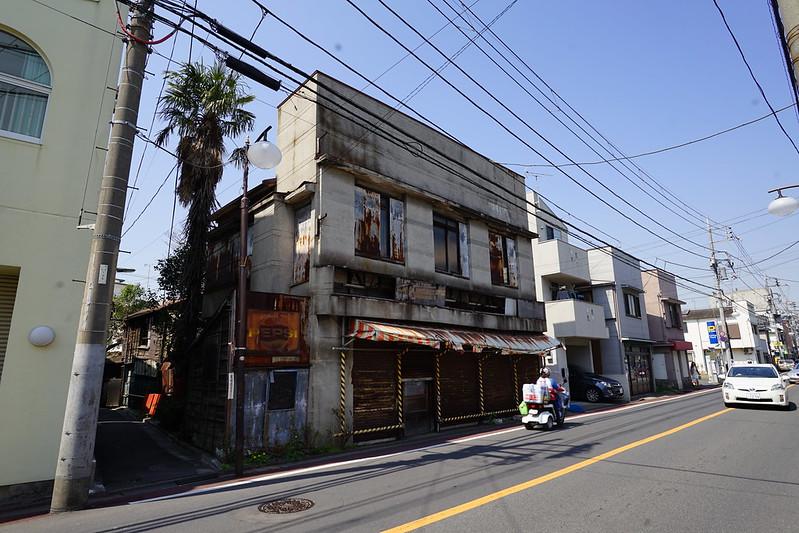 70東京いい道しぶい道池上道臼田坂のペプシ看板のお店