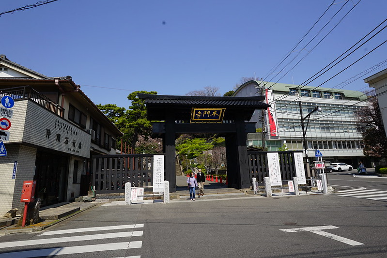 102東京いい道しぶい道池上道本門寺山門