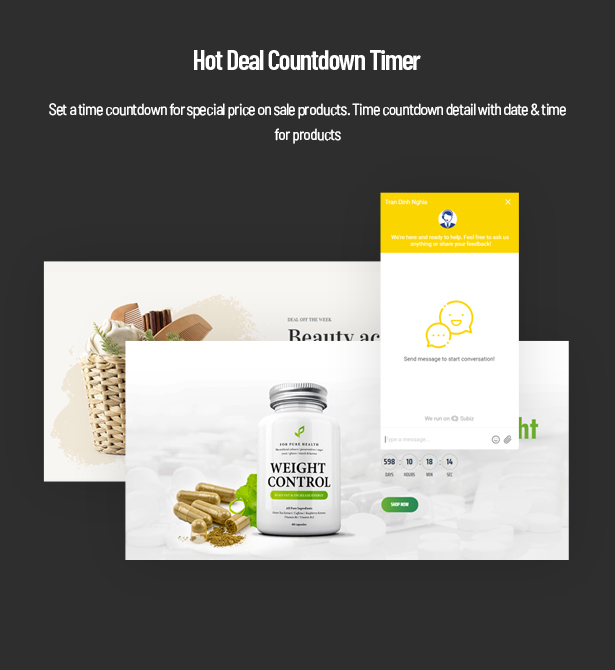 Hot Deal Countdown Timer