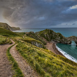 6. September 2017 - 7:36 - One from the archives in these days of Lockdown, Durdle Door in Dorset just after first light.