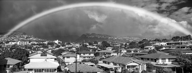Rainbow over Palolo Valley