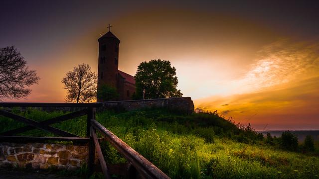 Sunrise on the Church