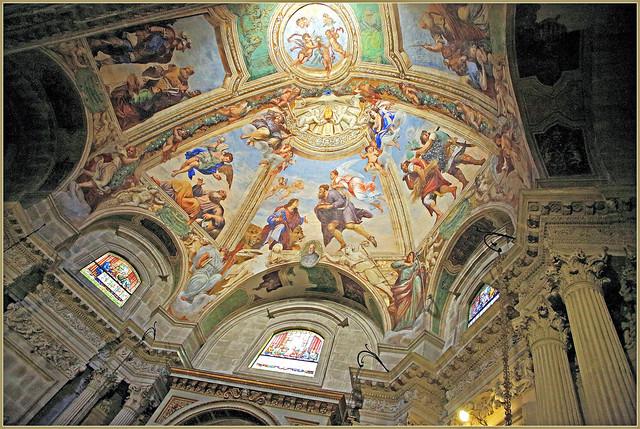 Chapelle du Saint Sacrement, cathédrale de Syracuse, Ortigia, Syracuse, Sicile, Italie