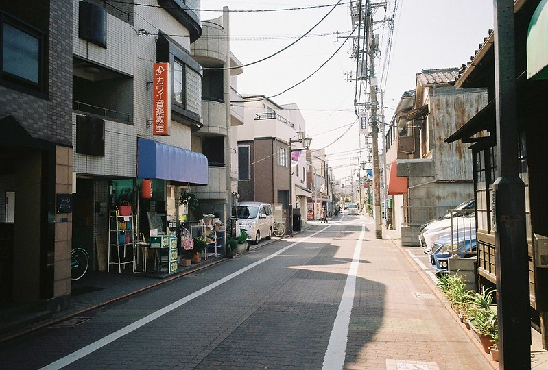 2−09GR1s+ColorPlus200東京いい道しぶい道池上道入り口