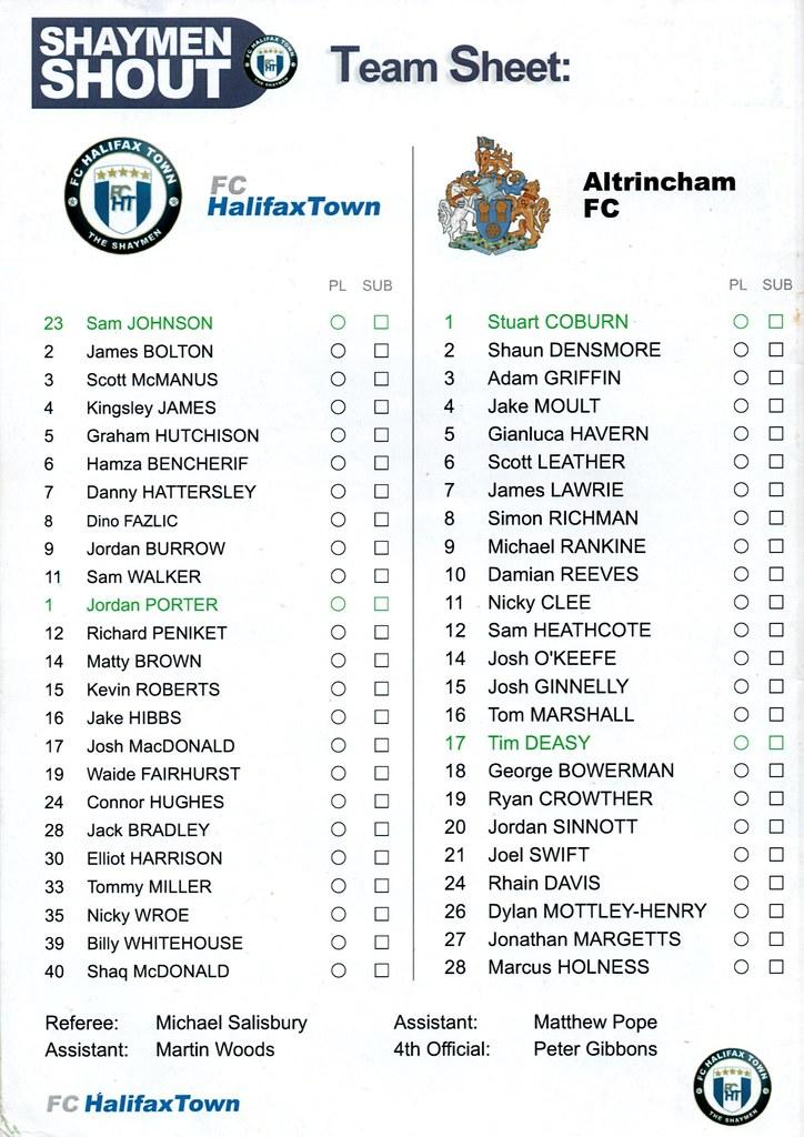 26-03-2016 Halifax Town 1-0 Altrincham 2