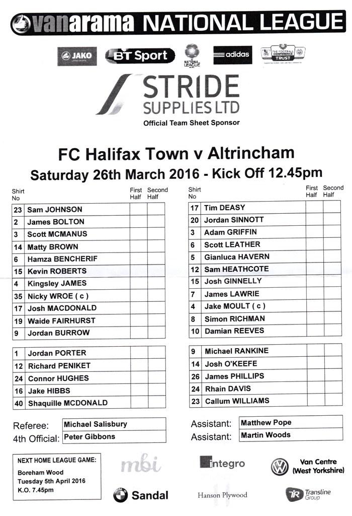26-03-2016 Halifax Town 1-0 Altrincham 3