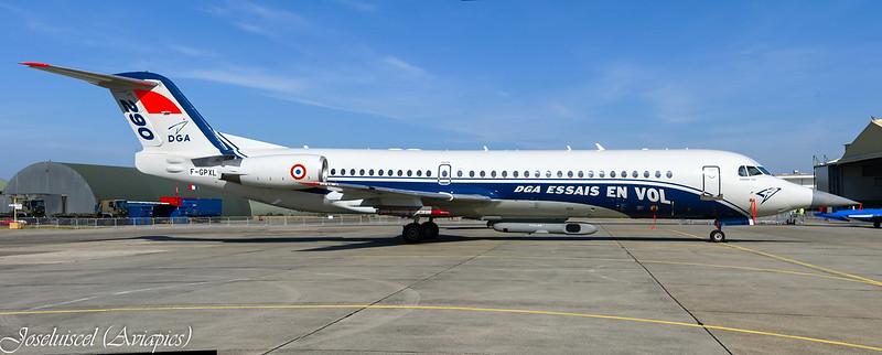 DGA/EV Fokker 100
