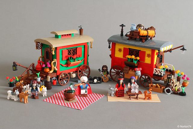 LEGO Romani Wagons