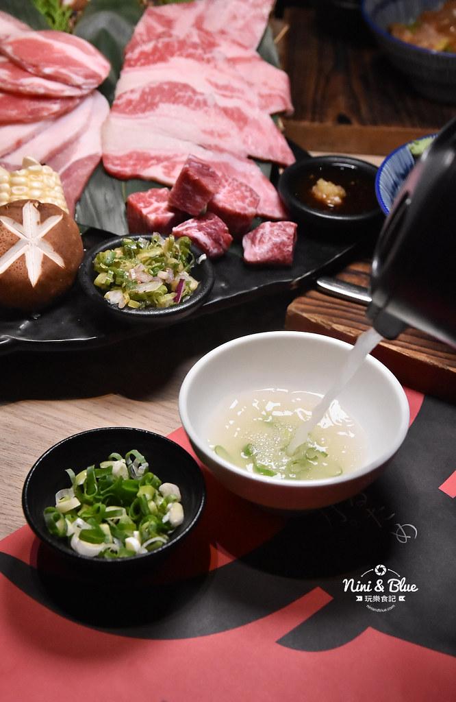 台中公益路燒肉推薦 一頭牛燒肉 菜單26