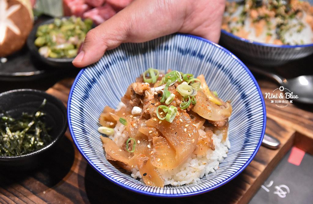 台中公益路燒肉推薦 一頭牛燒肉 菜單25