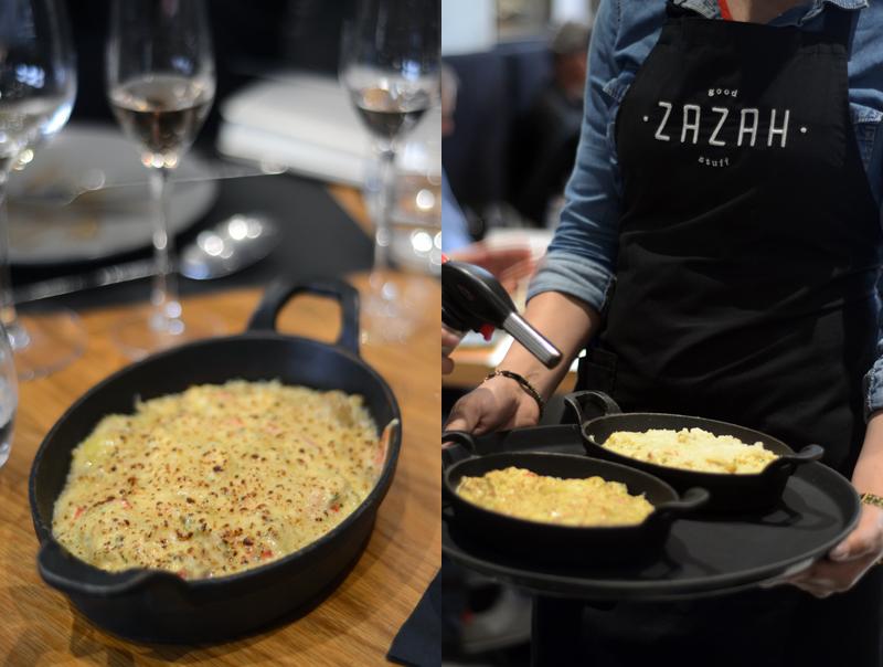Vinhos António Guerreiro no restaurante Zazzah