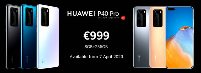 Huawei P40 Pro official