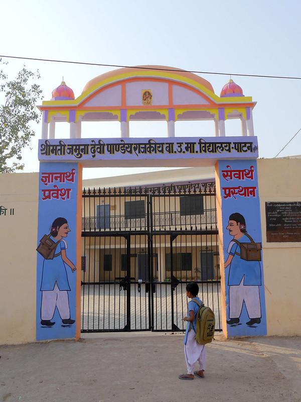 Départ pour l'école à Patan (Rajasthan) 49700498126_22b34798a1_c