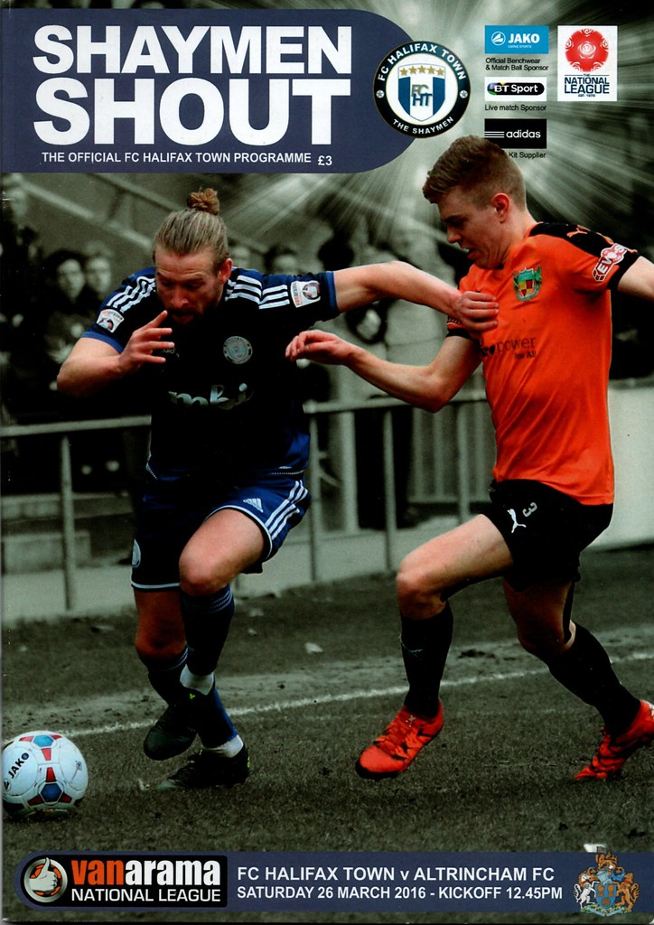 26-03-2016 Halifax Town 1-0 Altrincham 1 Kingsley James