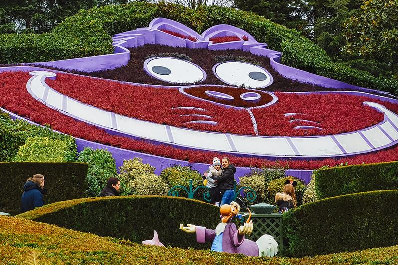Disneyland fotografiat cu telefonul