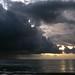 Beau Vallon : orage au couchant
