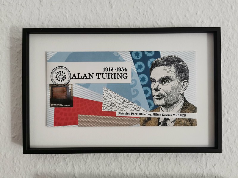 Alan Turing First Day Cover