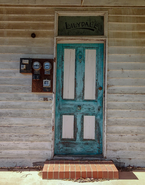 Leaning Door of Lilydale