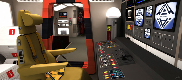 Space: 1999 - Eagle Transporter Engineering Bay