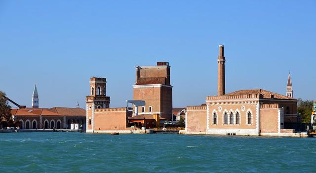 Blick zu Venedigsstadtteil Castello