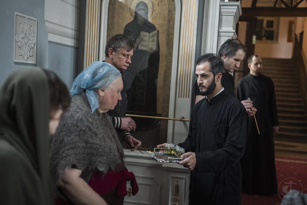 26 марта 2020, Таинство соборования / 26 March 2020, Sacrament of Unction