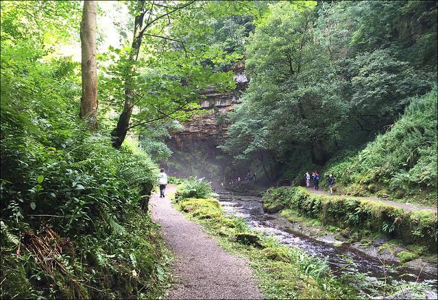 Path To Hardraw Force Waterfall