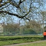 Group out on Ashton Park, Preston