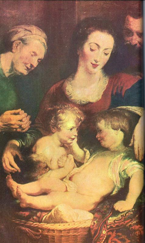 Holy Family by Ruebens