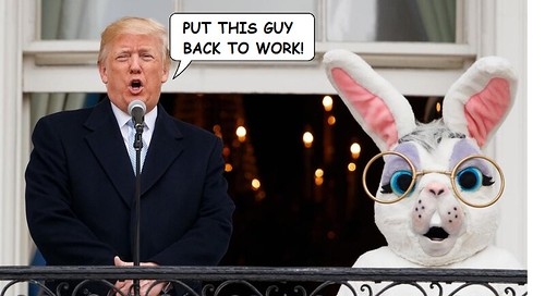 COVID-19: Trump's Easter Parade Death March