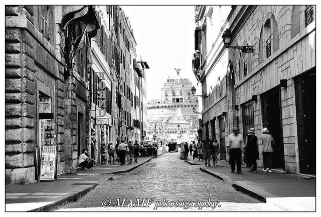 La strada, Roma.