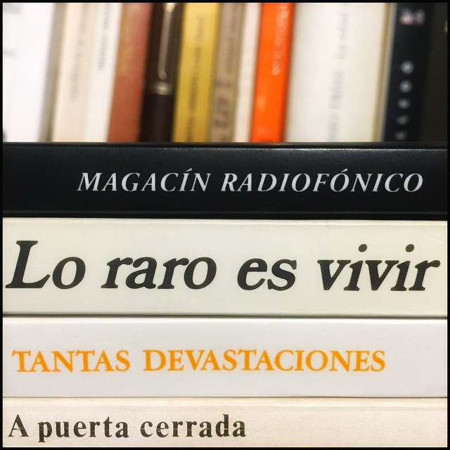Magacín radiofónico en estado de alarma 26.3.20 #yomequedoencasa #frenarlacurva #haikusdestanteria #quedateencasa