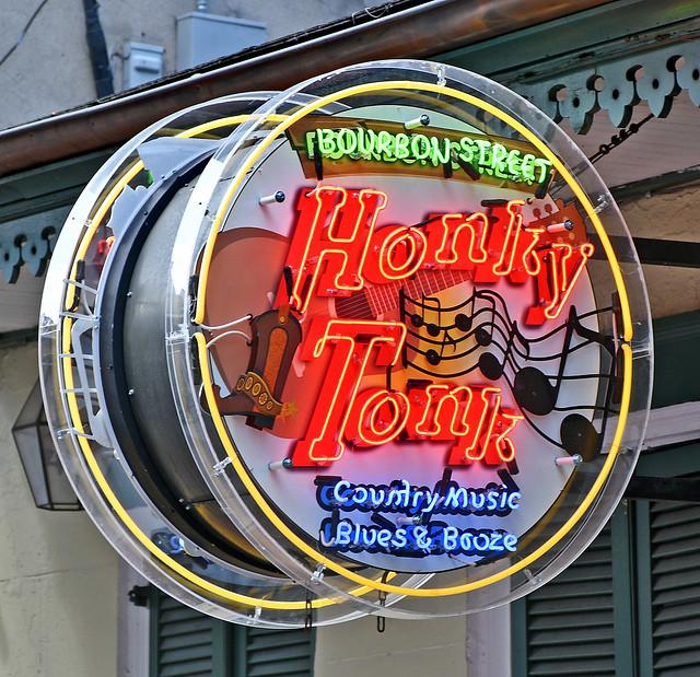Bourbon Street Honky Tonk, 727 Bourbon Street, New Orleans - 26 Feb 2020