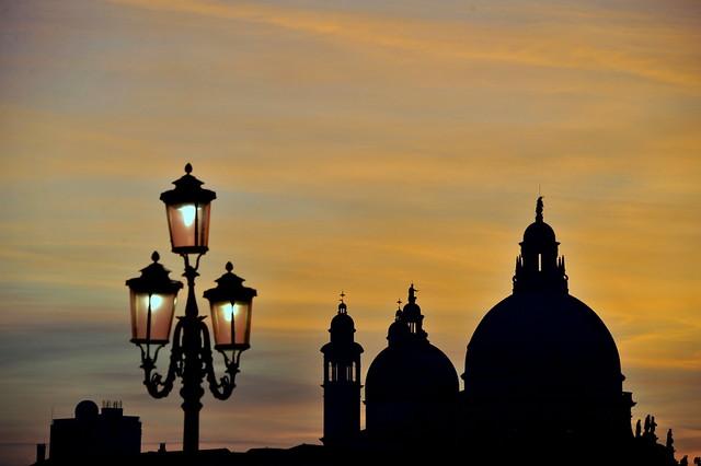 tramonto veneziano