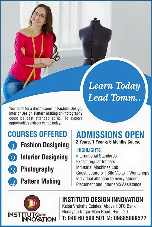 Fashion And Interior Designing Institute In Hyderabad Flickr