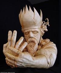 Wood Sculpture Artwork