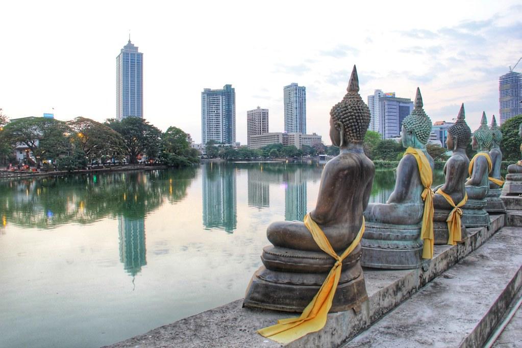 Seema Malakaya Meditation Centre, Beira Lake, Colombo