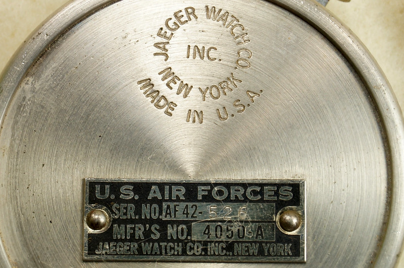 RD30065 Vintage WWII Era Jaeger Disk Speed Indicator BS. MK. XV US Air Force 4050-A DSC01676