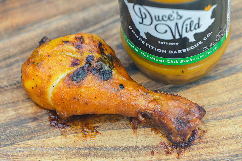 Duce's Wild Smokin' Hot Ghost Chili Barbecue Sauce