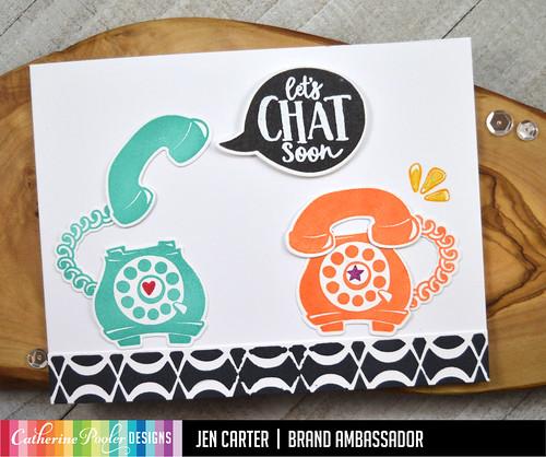 Call Me Loop Braid Stencil Chat JDC