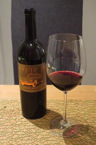 Grande Réserve (Merlot und Cabernet Sauvignon) vom Weingut Anciens Temps (als Kochwein)