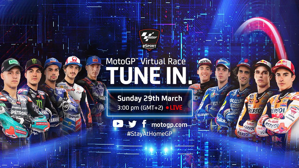 MotoGP Virtual Race Tune In