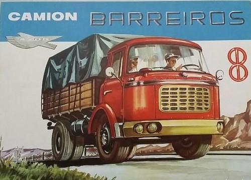 camió Barreiros publicitat