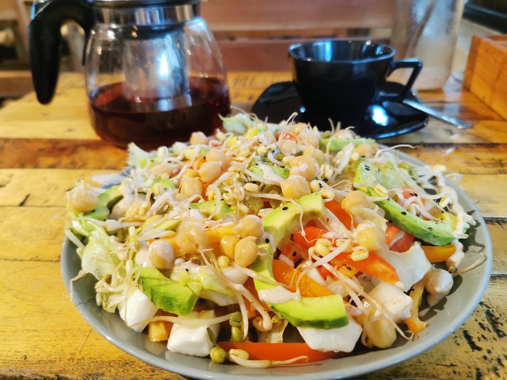 Chickpea salad, Buono, Kandy